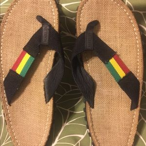 2a2cab474e44 Bob Marley Shoes - Bob Marley Fresco Sands Men s Flip Flops sz10-10.5